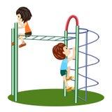 Ein Kind-` s Spielplatz Abbildung Lizenzfreie Abbildung