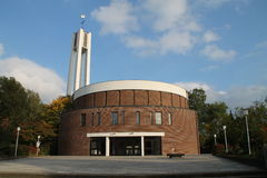 Ein Kirche Columbarium stockfoto