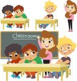 Ein Klassenzimmer stock abbildung