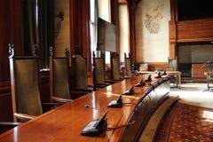Ein klassischer Konferenzsaal Stockfoto