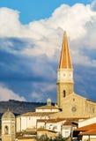 Ein kleiner Blick der Stadt von Arezzo Stockfoto