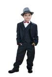 Ein kleiner Herr, der gerade steht Lizenzfreies Stockbild