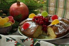 ein kleiner Kuchen für den Feiertag Stockfoto