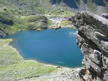 Ein kleiner Teich Stockfoto