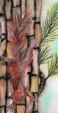 Ein kleines Eichhörnchen Stockbilder