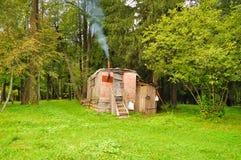 Ein kleines Haus Lizenzfreie Stockfotografie
