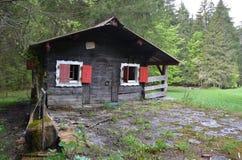 Ein kleines Haus, zum glücklich zu sein lizenzfreie stockfotos