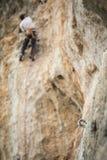 Ein kletternder Bolzen Lizenzfreies Stockbild