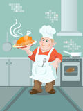 Ein Koch Lizenzfreies Stockbild