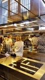 Ein Kochkurs beim Mercato Centrale in Florenz, Italien lizenzfreies stockbild
