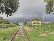 Ein kommender Monsun lizenzfreie stockfotografie