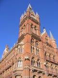 Ein Kontrollturm in London Stockbild