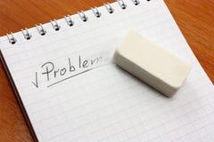 Ein Konzept des Lösens eines Probleme lizenzfreie stockfotografie