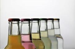 Ein Konzeptbild einer Flasche mit Kopienraum Lizenzfreie Stockfotografie