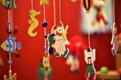 Ein Konzeptbild eines traditionellen Spielzeugs, Kinder, anwesend Lizenzfreie Stockfotografie