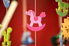 Ein Konzeptbild eines traditionellen Spielzeugs, Kinder, anwesend Stockfoto