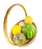 Ein Korb von Melonen IV Lizenzfreie Stockbilder
