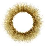 Ein Kranz des trockenen goldenen Grases Stockfoto