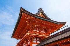 Ein Kyoto-Tempel Stockfotografie