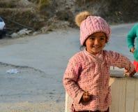 Ein Lächeln eines Kindes Lizenzfreies Stockbild
