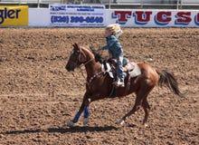 Ein La Fiesta De Los Vaqueros Junior Rodeo stockfoto