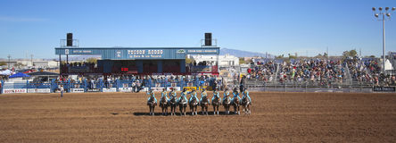Ein La Fiesta De Los Vaqueros, Tucson, Arizona Lizenzfreie Stockbilder