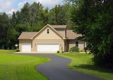 Ein landwirtschaftliches Haus Lizenzfreies Stockfoto