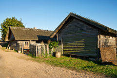 Ein landwirtschaftliches Haus Stockfoto