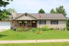 Ein landwirtschaftliches Haus Stockbilder