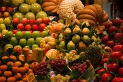 Ein Lebensmittelmarkt in Barcelona Lizenzfreie Stockfotografie