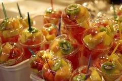 Ein Lebensmittelmarkt in Barcelona Lizenzfreie Stockfotos