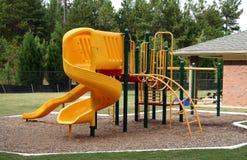 Ein leerer Spielplatz Lizenzfreies Stockbild