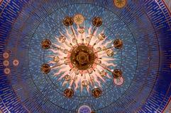 Ein Leuchter von der Ansicht von unten Lizenzfreies Stockfoto