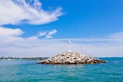Ein Leuchtturm im Khao samet, Thailand Lizenzfreies Stockfoto