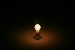 Ein Licht in der Dunkelheit Lizenzfreies Stockfoto