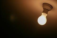 Ein Licht in der Dunkelheit Stockbilder