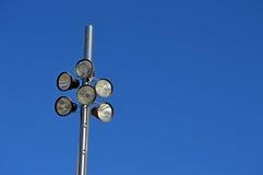 Ein Lichtmast Stockfotos