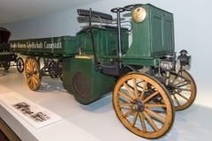 Ein LKW Daimler-Motor-Lastwagen, 1898 Lizenzfreie Stockfotografie