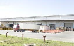 Ein logistischer Platz Stockfoto