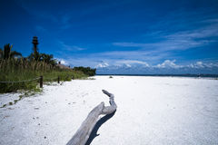 Ein LOGON der Strand lizenzfreie stockbilder