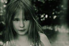 Ein Mädchen stockbild