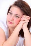 Ein Mädchen lizenzfreies stockbild
