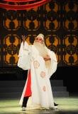 Ein männlicher Peking-Operenausführender Stockfotografie