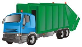 Ein Müllwagen lizenzfreie abbildung