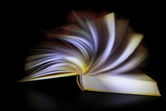 Ein magisches Buch Stockfotografie