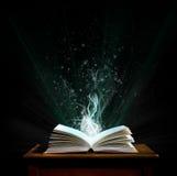 Ein magisches Buch. Lizenzfreie Stockbilder