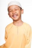 Netter moslemischer Junge Lizenzfreie Stockfotografie