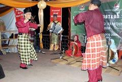 Ein malaysischer Tanz lizenzfreies stockbild