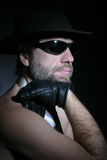 Ein Mann in einem Hut Lizenzfreies Stockfoto