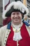 Ein Mann gekleidet französischen Kleidung in der des 17. Jahrhunderts Lizenzfreies Stockfoto